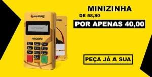 Minizinha a R$ 40,00 reais