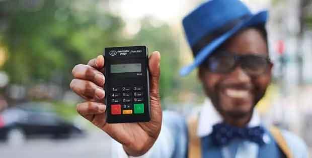 máquina de cartão para revendedores