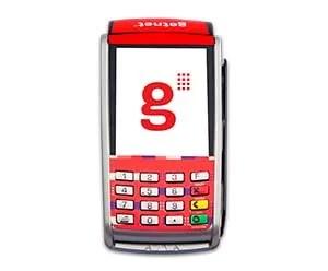 Maquininha de Cartão Santander Superget GPRS | 3G (Dual Chip)