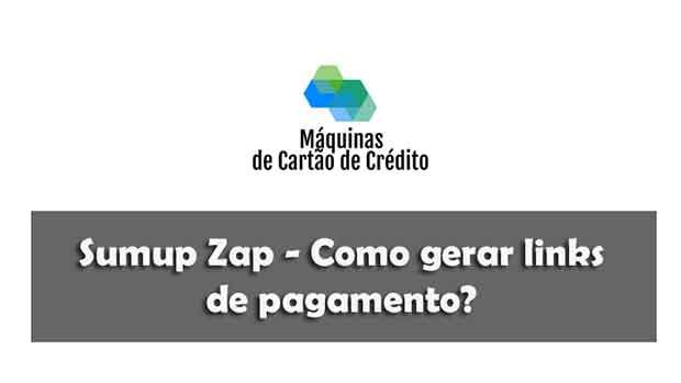 Sumup Zap Como gerar links de pagamento para vender a distância
