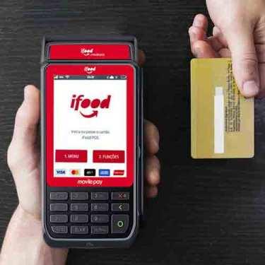 melhores máquinas de cartão para Delivery ifood ultra