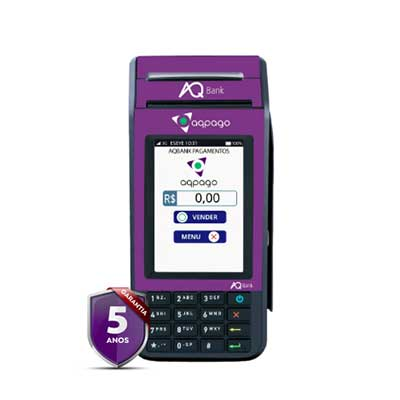 Melhores máquinas de cartão para 2021 AQPay Super Cash