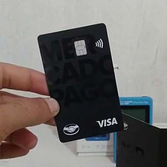 cartão visa black mercado pago