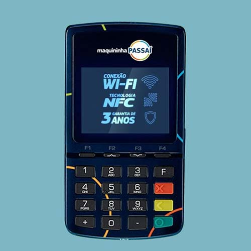 Maquininha Passaí Wifi