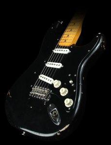 Fender Black Stratocaster Relic - David Gilmour