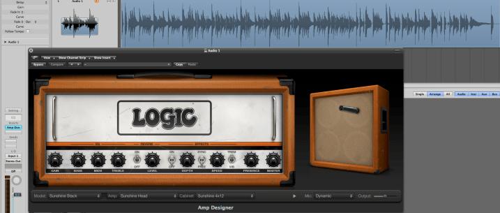 Essa ai foi a configuração que eu usei na minha gravação que você pode ouvir no fim deste post