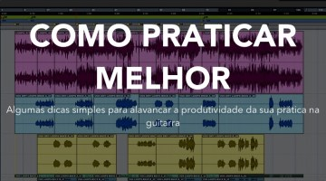 Como usar Backing Tracks para praticar