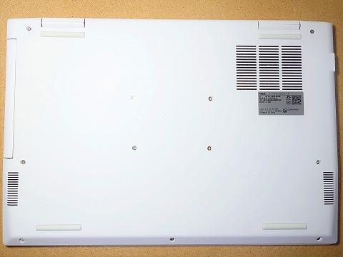 【実機レビュー】NECノートパソコンLAVIE Direct N15の口コミ評価&評判まとめ PC-GN244RUAN 本体裏面