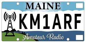 New ham registration plate