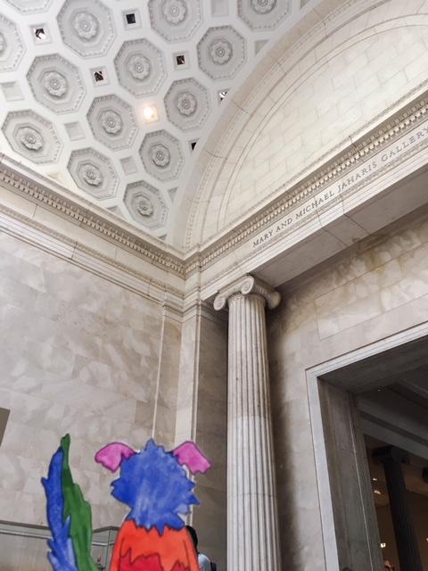 Met Museum Greek Roman Arched Ceiling