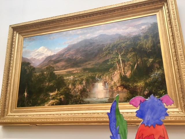 american art, landscape, frederic edwin church, hudson river school