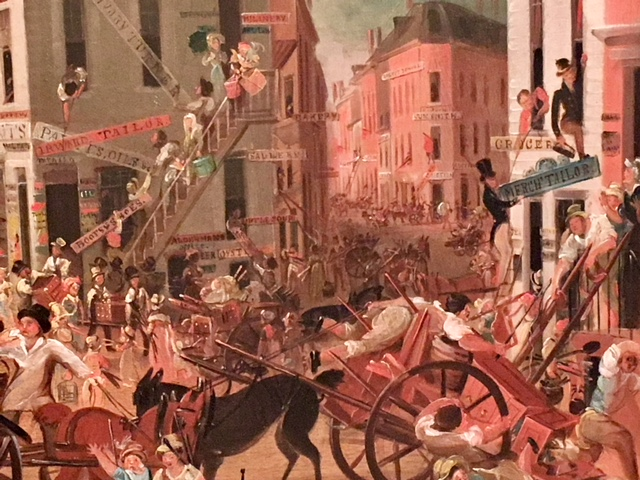 new york, american history, american art, five points