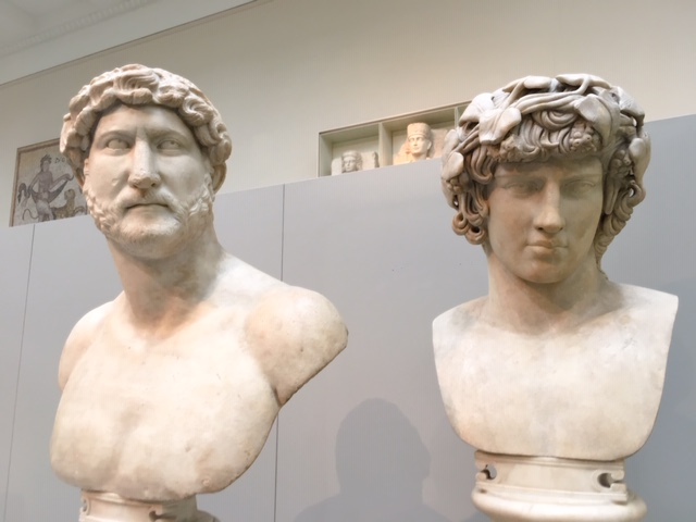 marble sculpture, Hadrian, Antinous