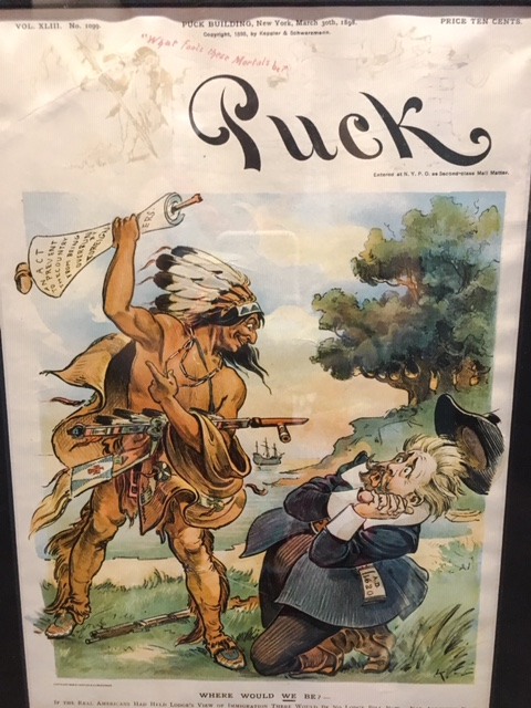 puritan, native american, puck