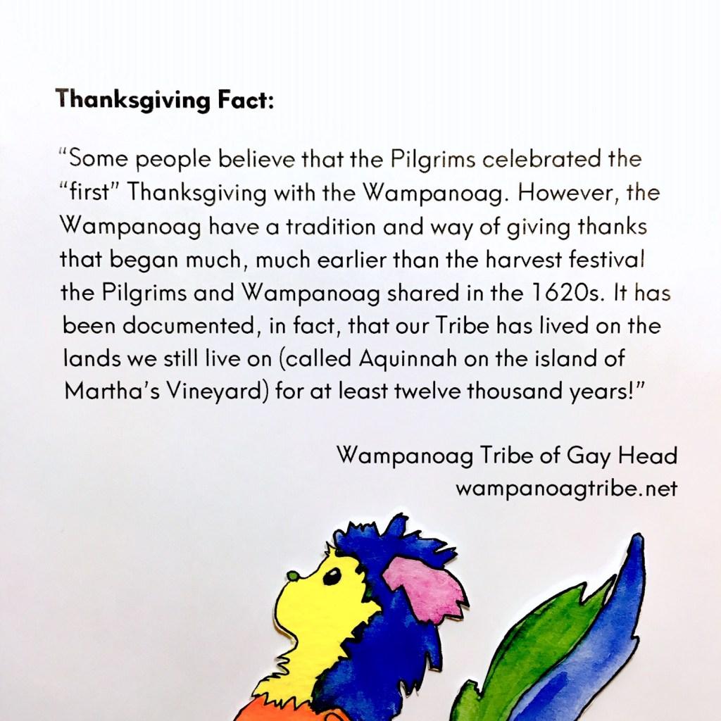 Thanksgiving, Wampanoag
