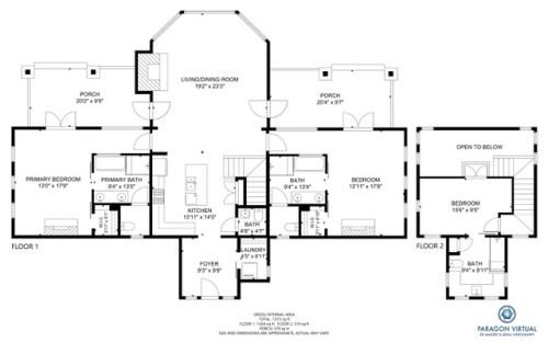 Quarter Moon Floor Plan