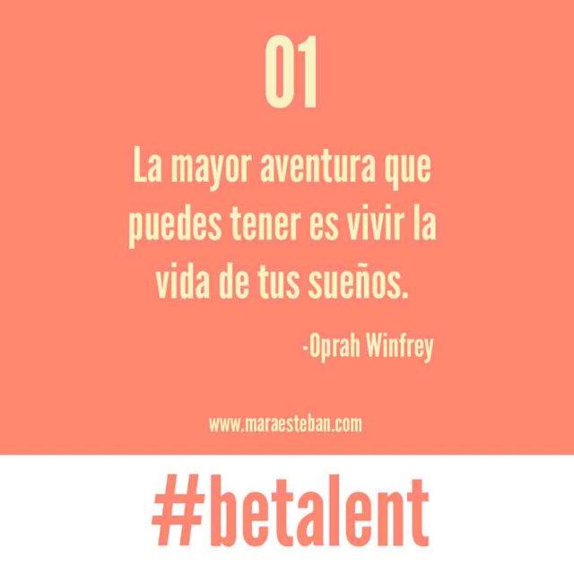 be talent