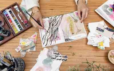 Was ist ein Art Journal & warum es sich lohnt kreativ zu werden