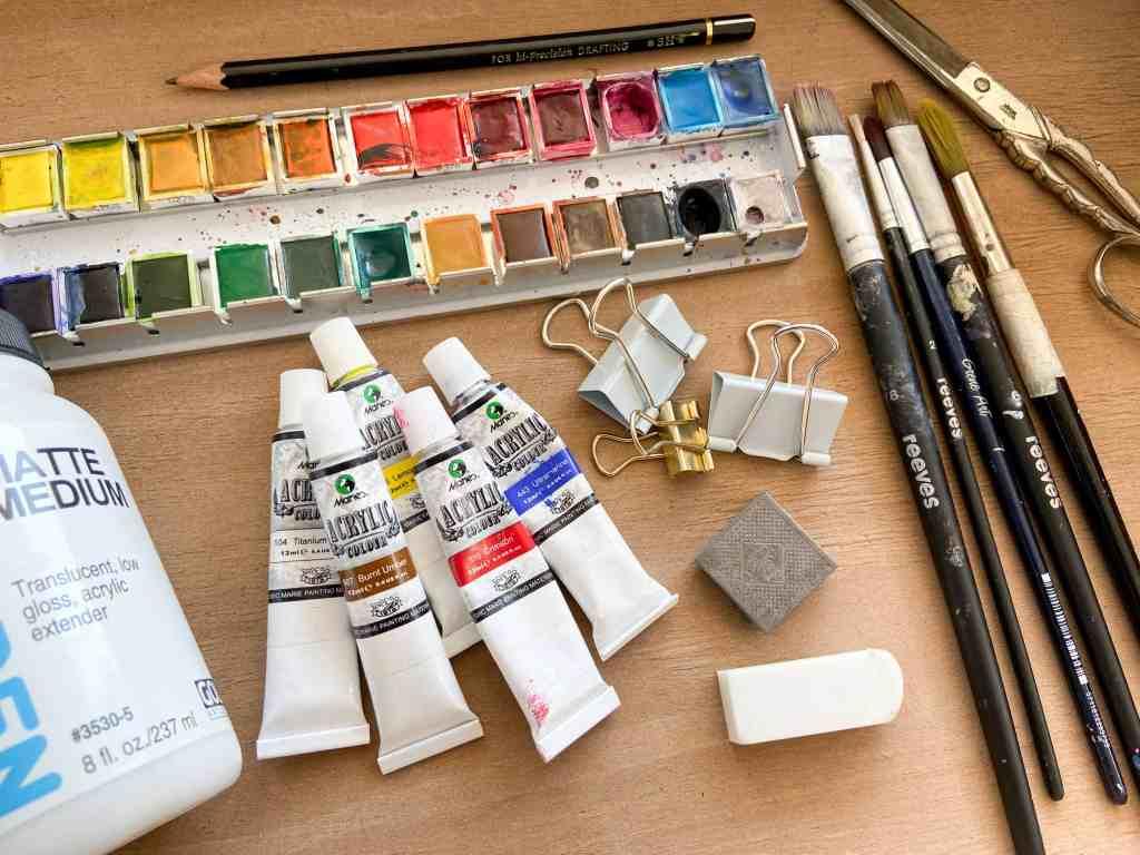 materialien-fürs-art-journaling