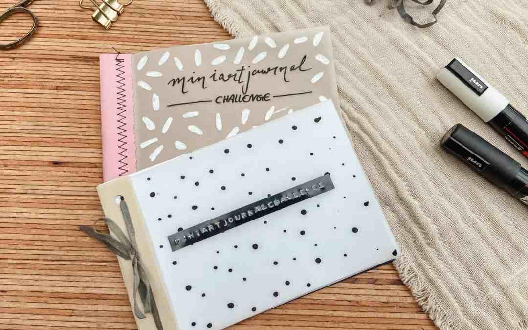 DIY: Mini Art Journal einfach selber machen