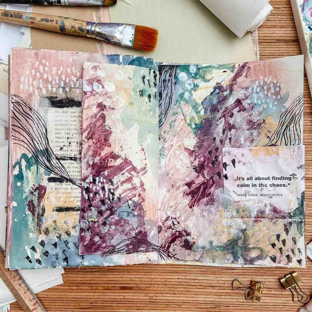 abstrakte-art-journal-seite