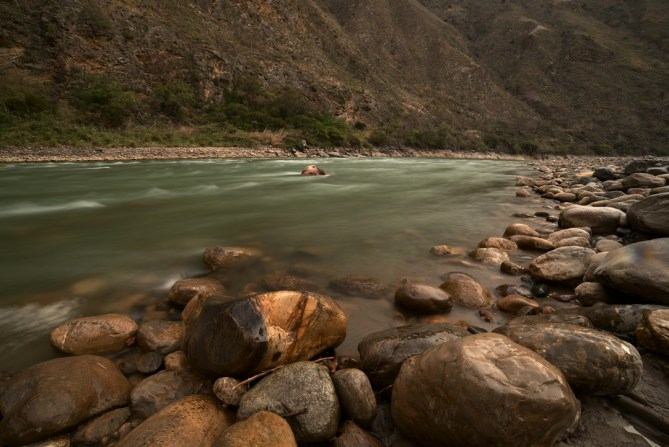 River trip through the Grand Canyon of the Maranon [...] </p srcset=