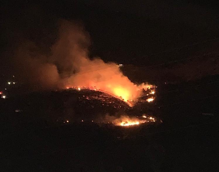 Kahramanmaraş'ta bahçe ve örtü yangını