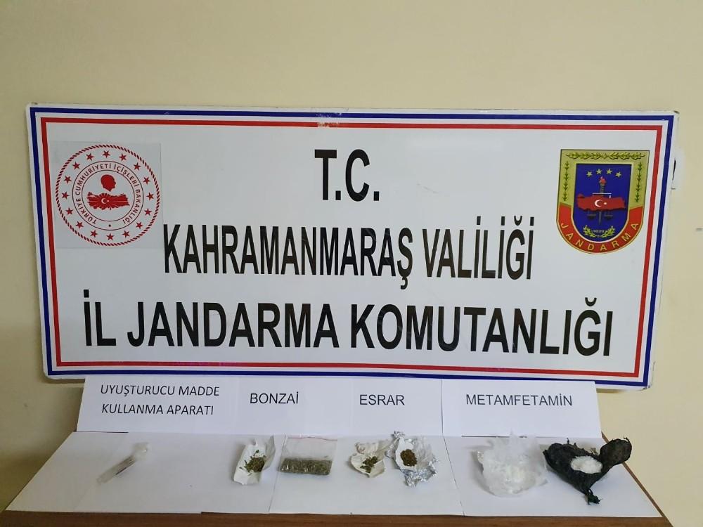 Kahramanmaraş'ta uyuşturucuya 8 gözaltı