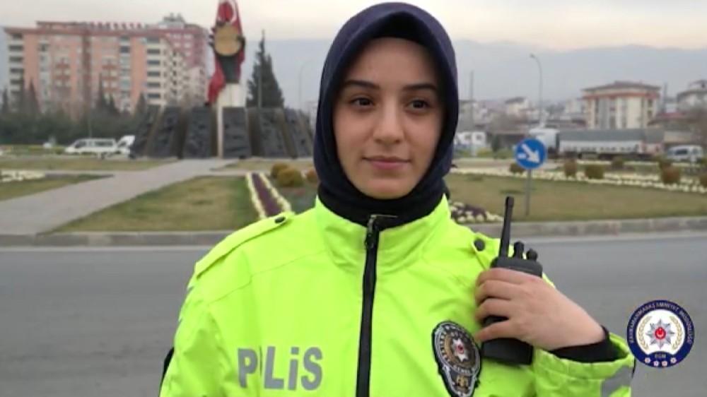 Kahramanmaraş Emniyetinden kadınlara özel klip