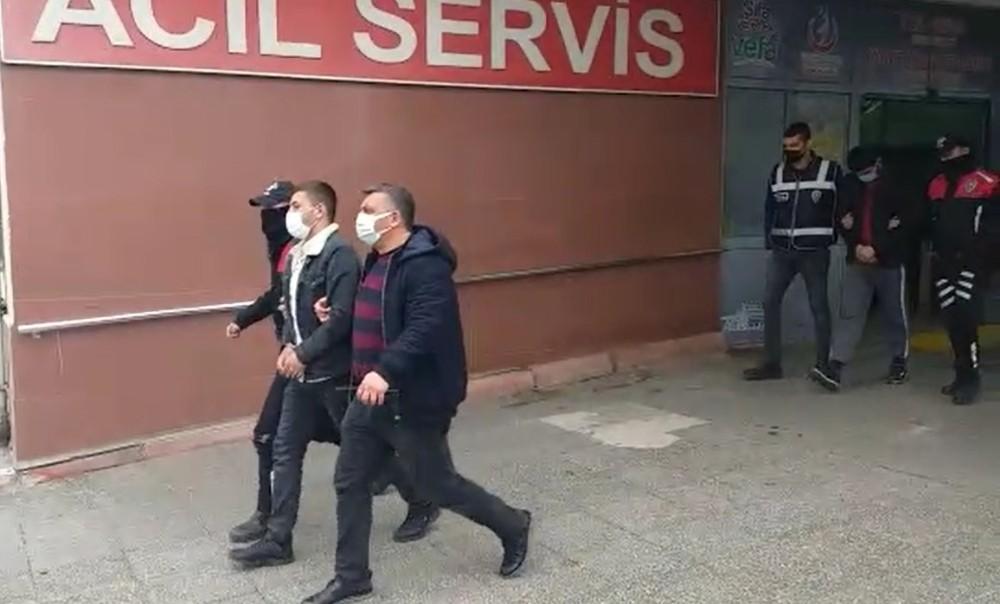 Kahramanmaraş'ta otodan hırsızlık yapan 3 kişi tutuklandı