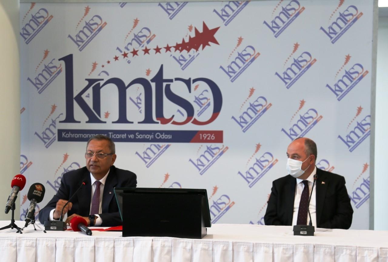 """KMTSO Başkanı Balcıoğlu: """"Kahramanmaraş bir kat daha büyüyecek"""""""