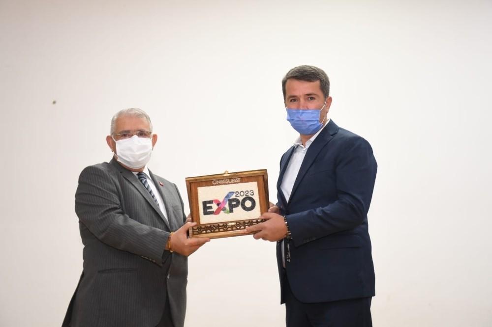 """Mahçiçek: """"Expo, Kahramanmaraş'ı uluslararası arenada prestij kazandıracak"""""""