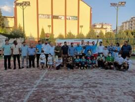 Kahramanmaraş'ta tenis turnuvası sona erdi