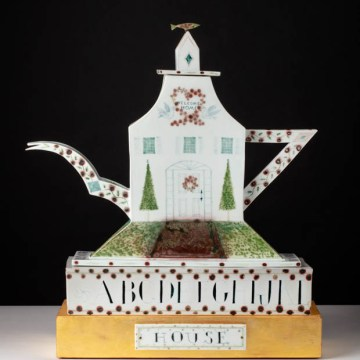 "Mara Superior, ""A Tea House"", 1988"