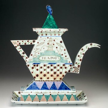 """Mara Superior, """"A Pennsylvania Teapot"""", 1987"""