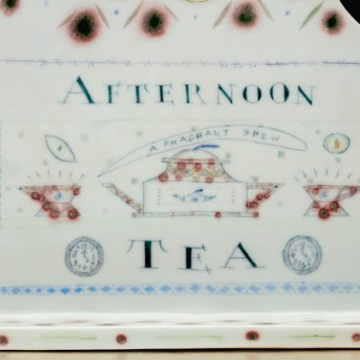 "Mara Superior, ""Afternoon Tea"", 1996, detail"