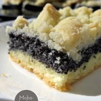 Für Mohn-Fans: Mohnkuchen vom Blech
