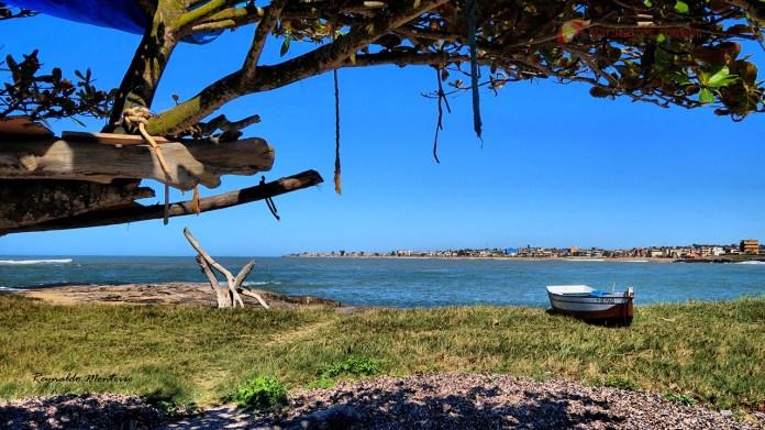 Ilha de Itaputera em Marataízes, uma prainha paradisíaca e agradável