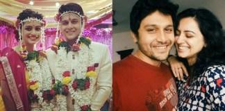 Actress Shruti Marathe is married to Gaurav Ghatnekar