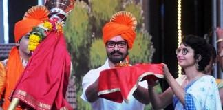Aamir Khan celebrated his 52nd birthday on Chala Hawa Yeu Dya