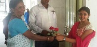 Rinku Rajguru Appears For SSC Exam
