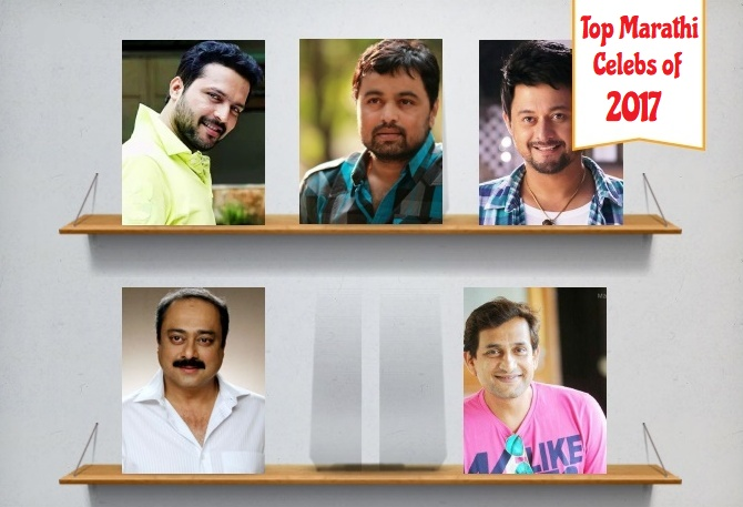 Top Marathi Actors of 2017Top Marathi Actors of 2017