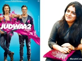 Urvashi Raj Thackeray enters Bollywood with Judwaa 2