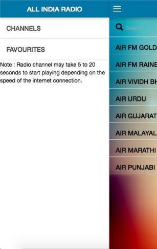 ऑल इंडिया रेडिओ लाईव्ह अनुप्रयोग