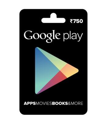 गूगल प्ले गिफ्ट कार्ड्स