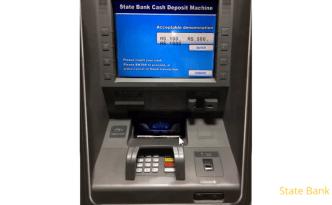 CDM यंत्र - खात्यात पैसे भरणे