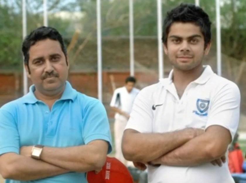 Virat Kohali Coach Rajkumar Sharma
