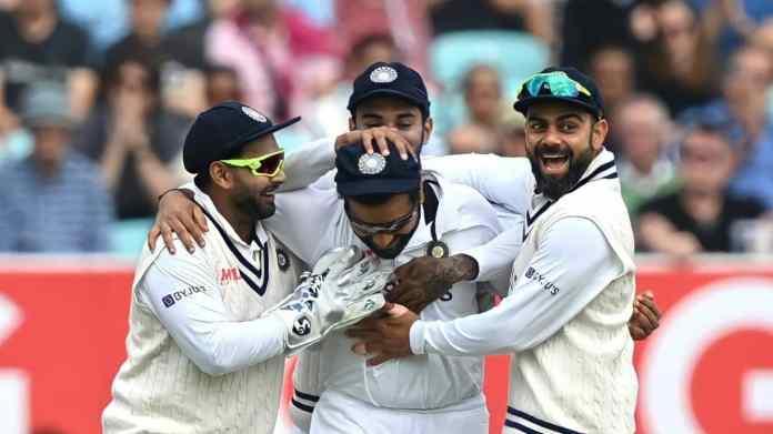 भारताने चौथा कसोटी सामना जिंकला