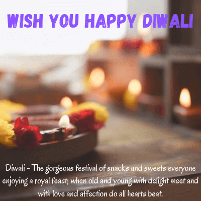 Happy Diwali Wishes Messages