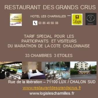Logis les Charmilles Restaurant des Grands Crus